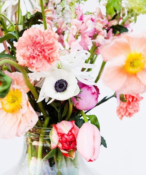 fles-bloemen